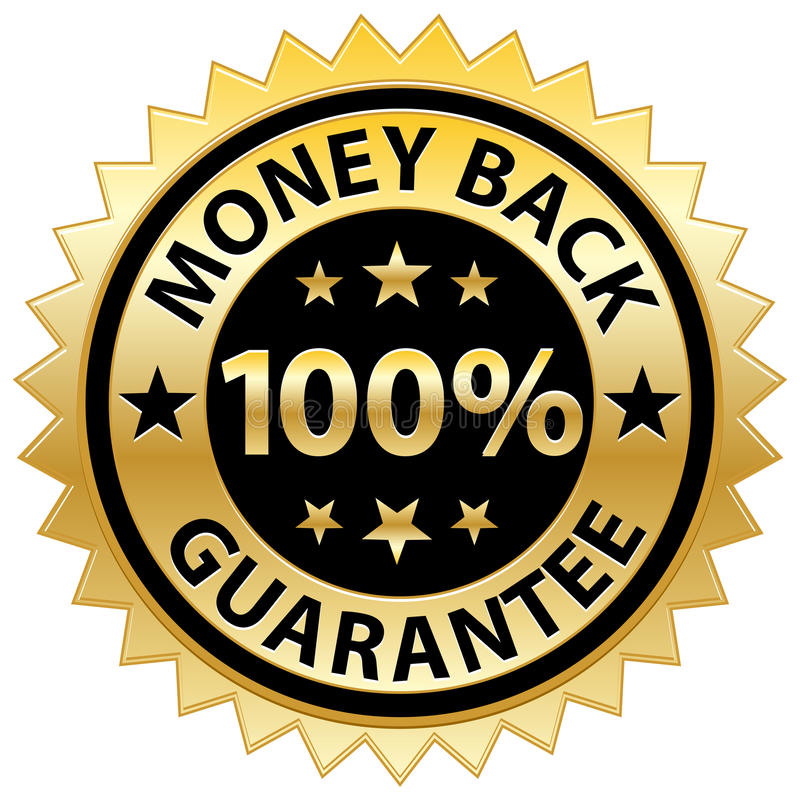 Free Money Back Guarantee Stock Photography - 15048772