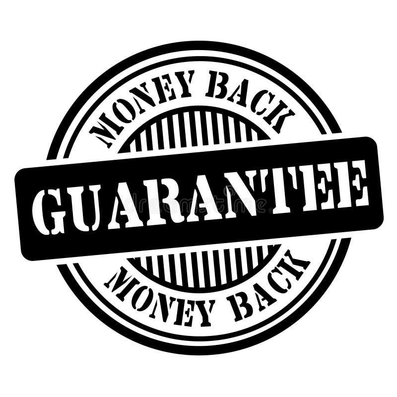Money Back Guarantee Stamp vector illustration