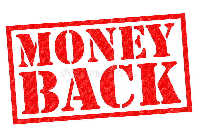 MONEY BACK vector illustration