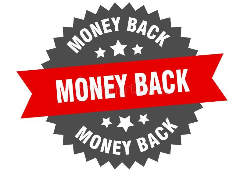 money back royalty free illustration