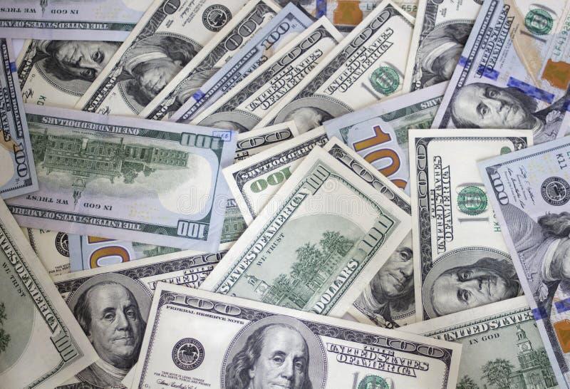 Money background. Dollars stock images