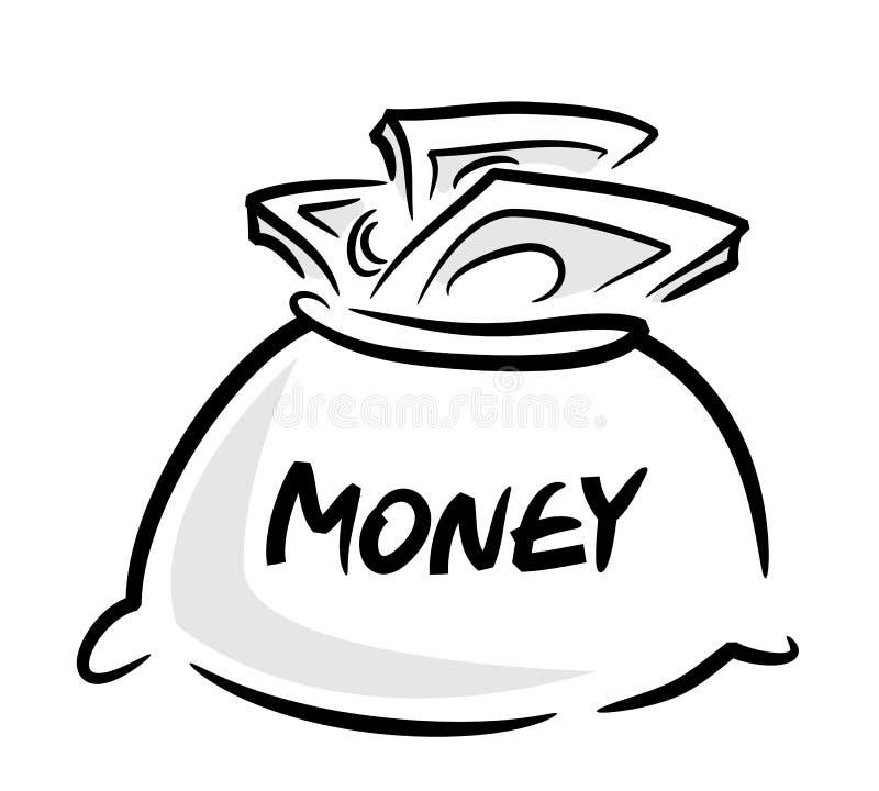 Download Money bag stock vector. Image of finance, expensive, prosperity - 13784624