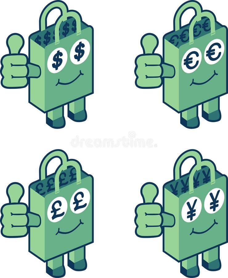Download Money bag stock vector. Illustration of gift, marketing - 13923025