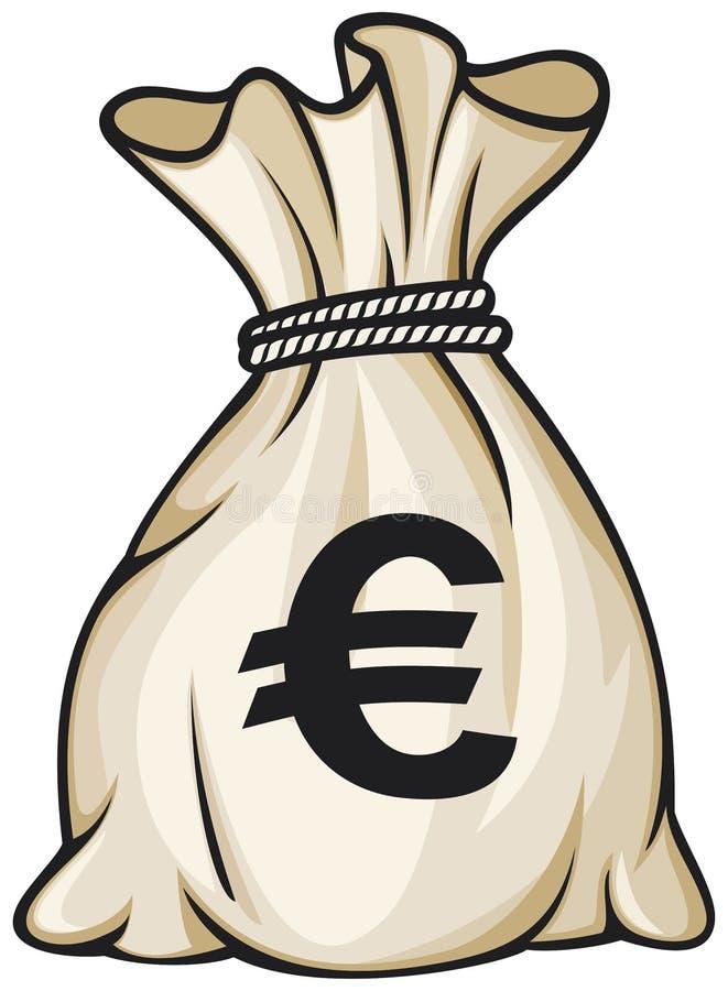 Download Money bag stock vector. Image of economy, banking, linen - 24400145