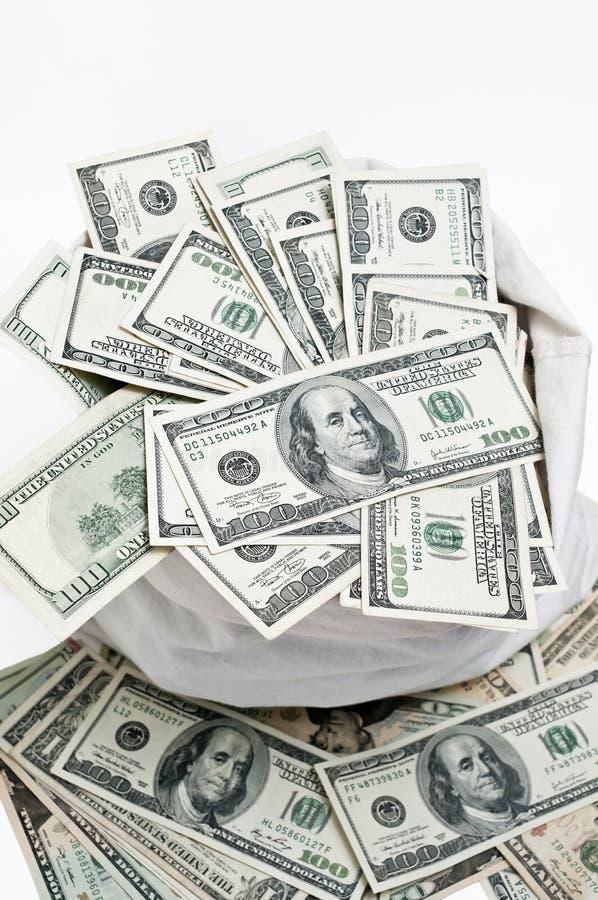 Download Money Bag stock image. Image of dollars, banknotes, cash - 26939353