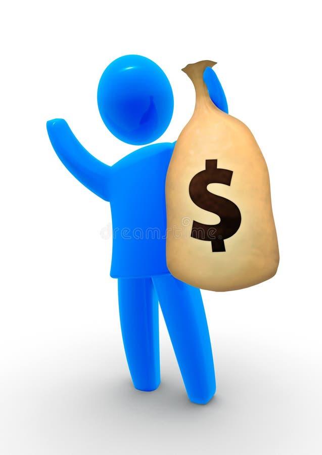 Download Money Bag Royalty Free Stock Photo - Image: 9468815