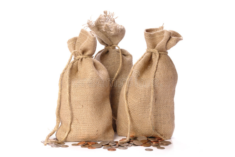 Download Money bags stock photo. Image of returns, sack, business - 7376716