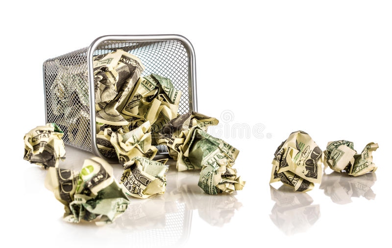Download Money in a basket stock image. Image of cash, business - 28495923