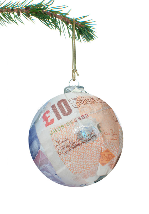 Money bauble stock images