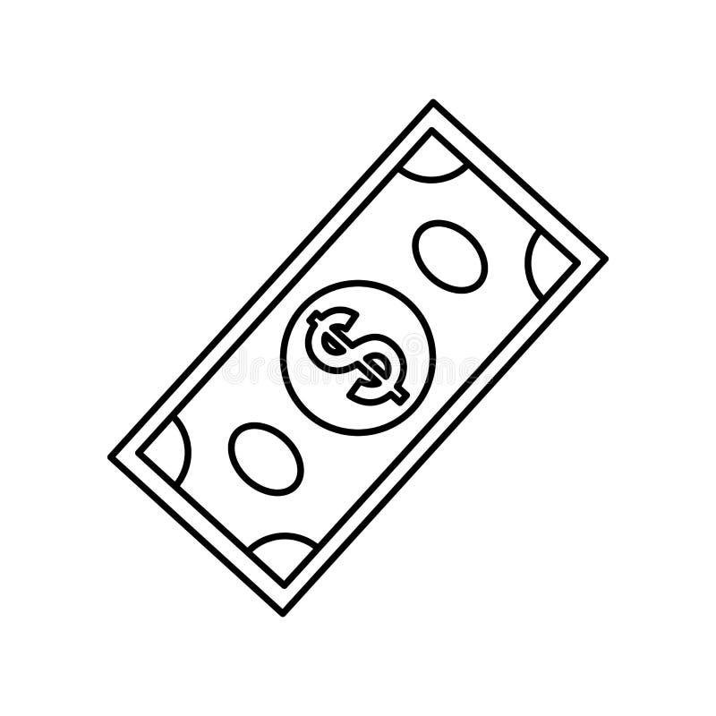 Money billet cash. Icon vector illustration graphic design stock illustration