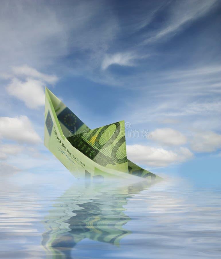 Download Money boat stock image. Image of eurobonds, green, euro - 5025579