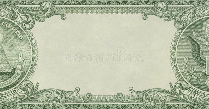 Money border stock photography