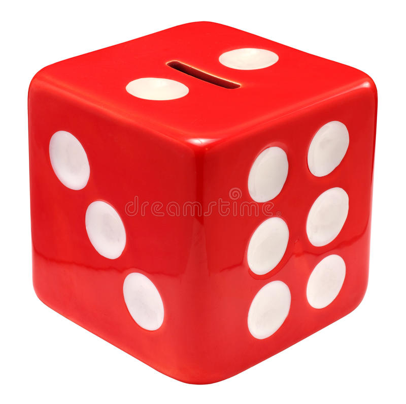 Free Money Box Dice Royalty Free Stock Image - 19305536
