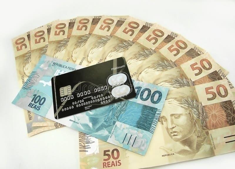Money from Brazil royalty free stock photo