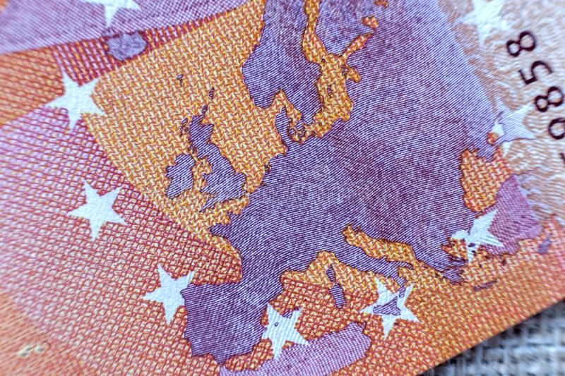 Money, busyness and finances concept. Detail part of five hundred banknote euro national currency bill. Symbol of wealth and stock images