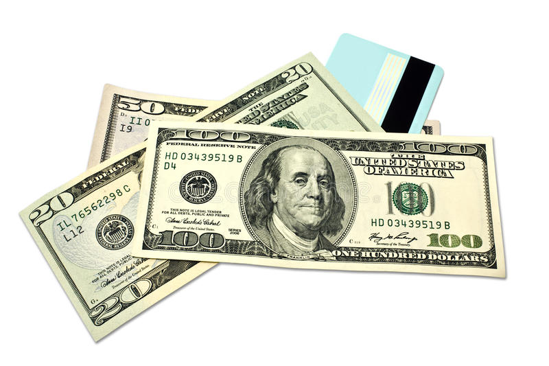 Money Card Stock Photo