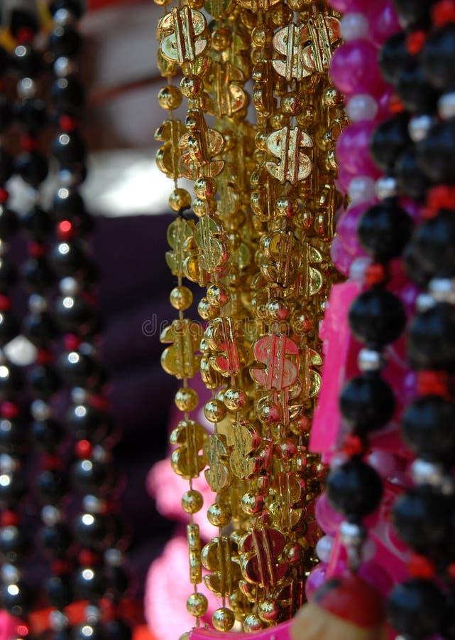 Money Carnival Beads stock image