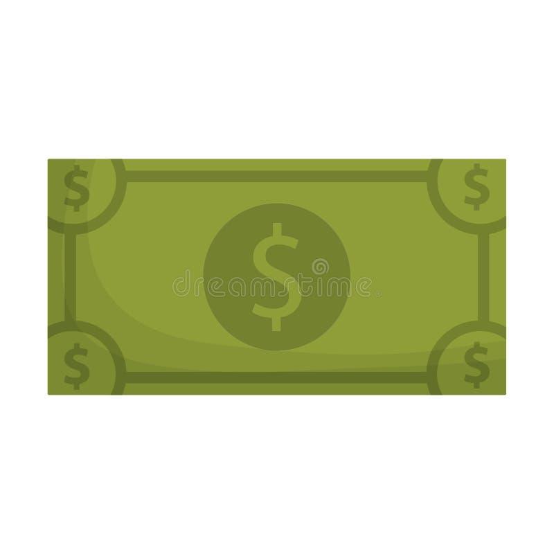 Money cash billet. Icon vector illustration graphic design stock illustration