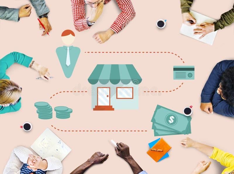 Money Cash Flow Economic Economics Concept stock photography