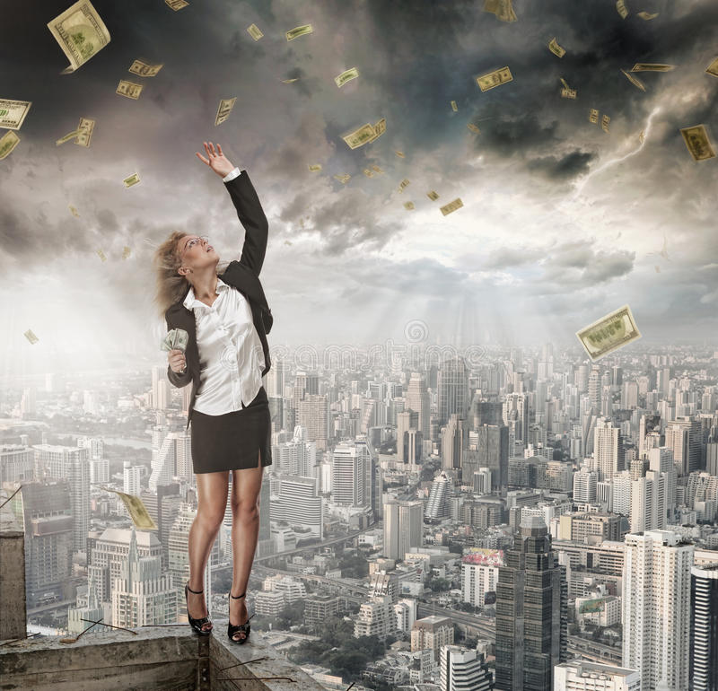Free Money Catcher Royalty Free Stock Images - 20058179