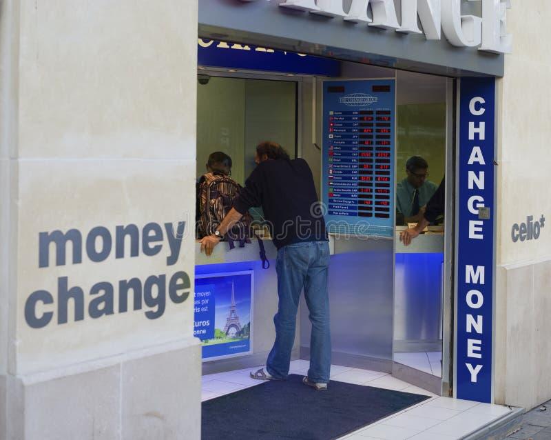 Money change stock photo