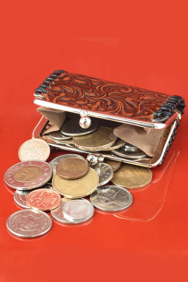 Free Money Change Purse Stock Photography - 1262372