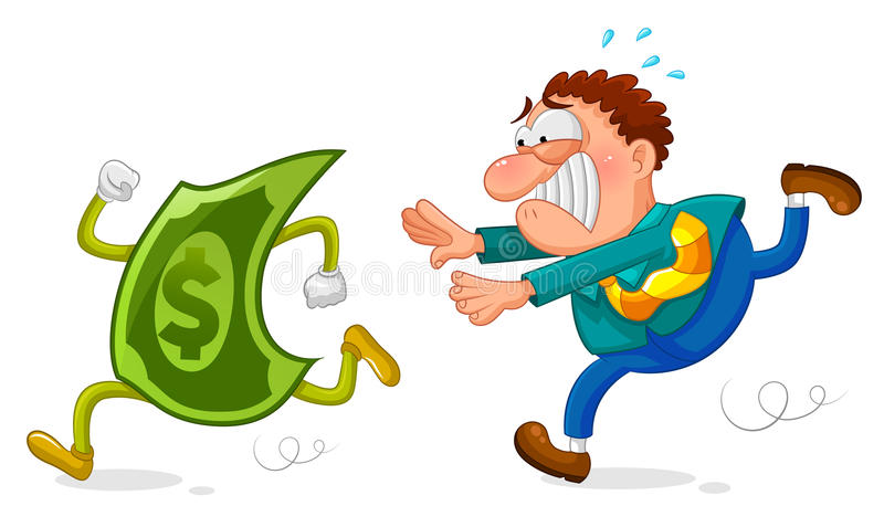 Download Money Chase Stock Image - Image: 29016261