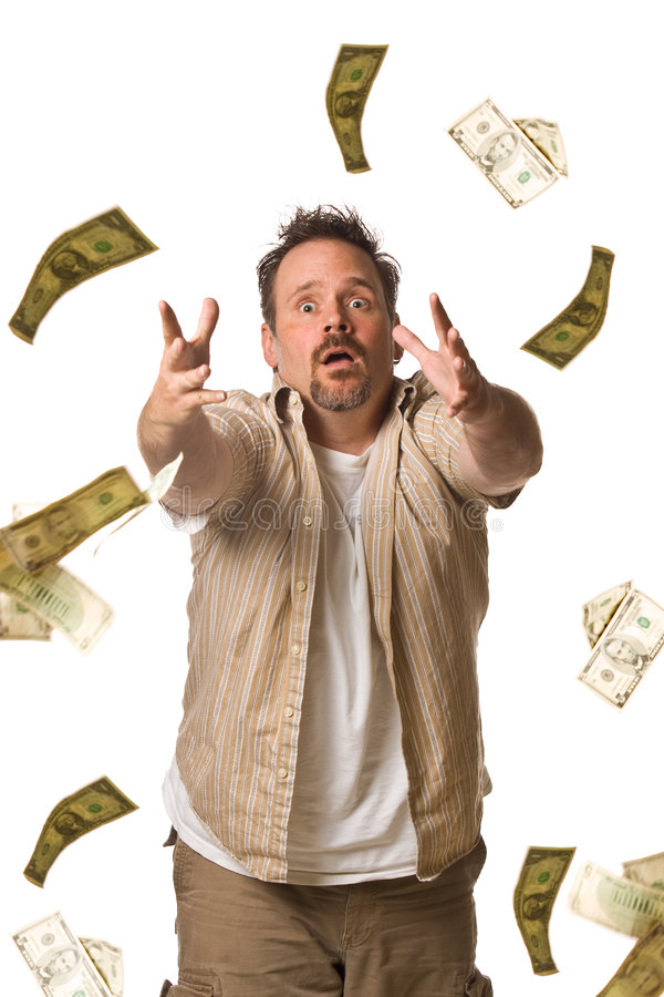 Download Money Chaser stock photo. Image of surprised, income, wealth - 5499234