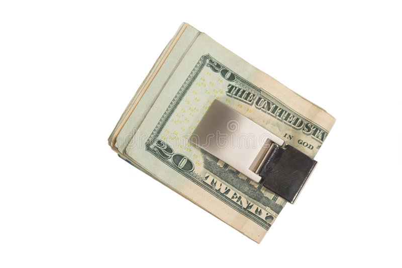 Money Clip royalty free stock image