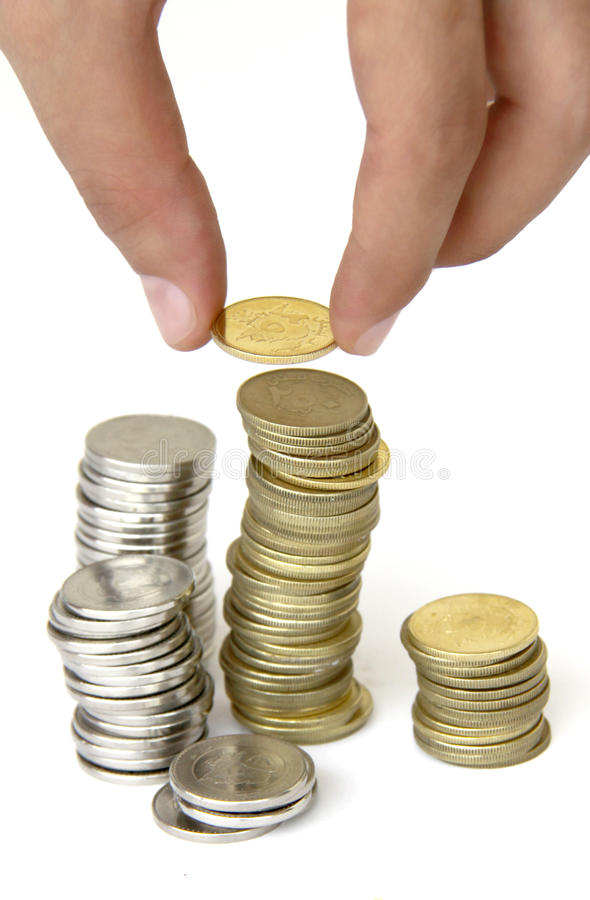 Money Coins royalty free stock image