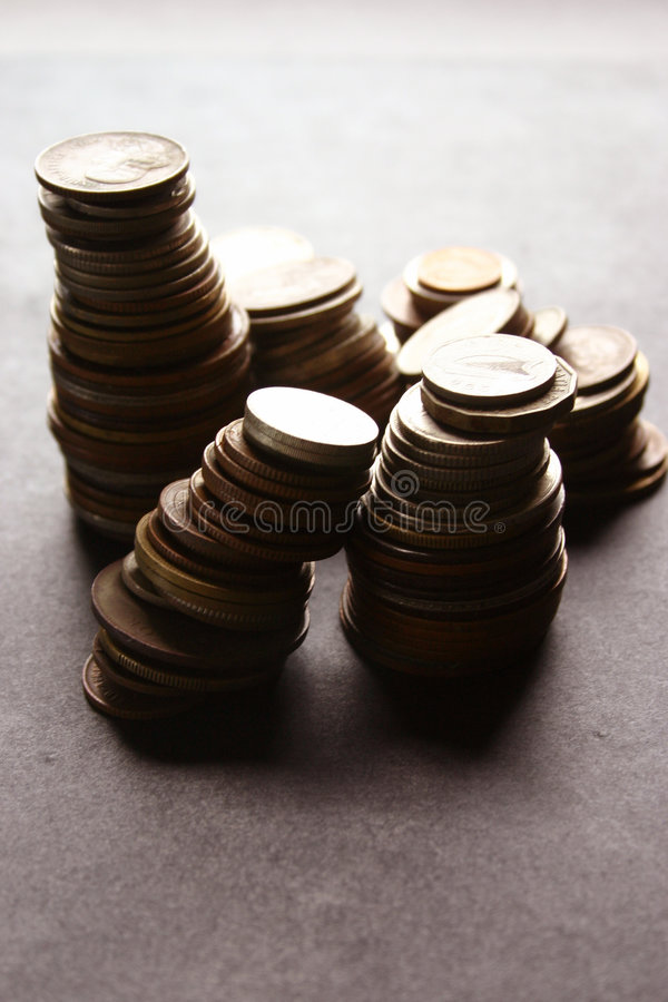 Free Money Coins Royalty Free Stock Photos - 4748788