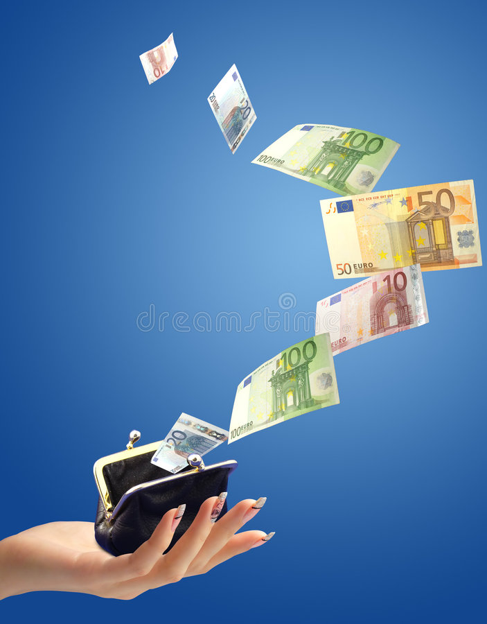 Download Money concept stock photo. Image of female, collage, cash - 4371074