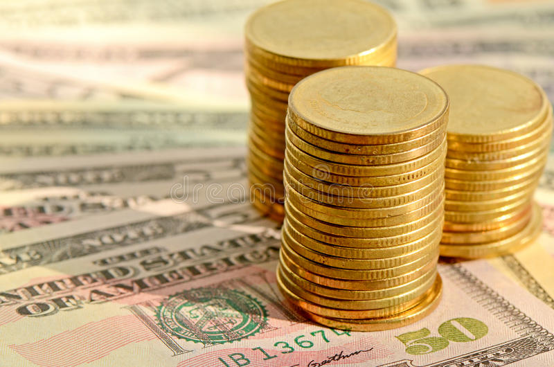 Money Concept. Investment, loan, money products, credit, refinance, saving and other financial concept stock photography