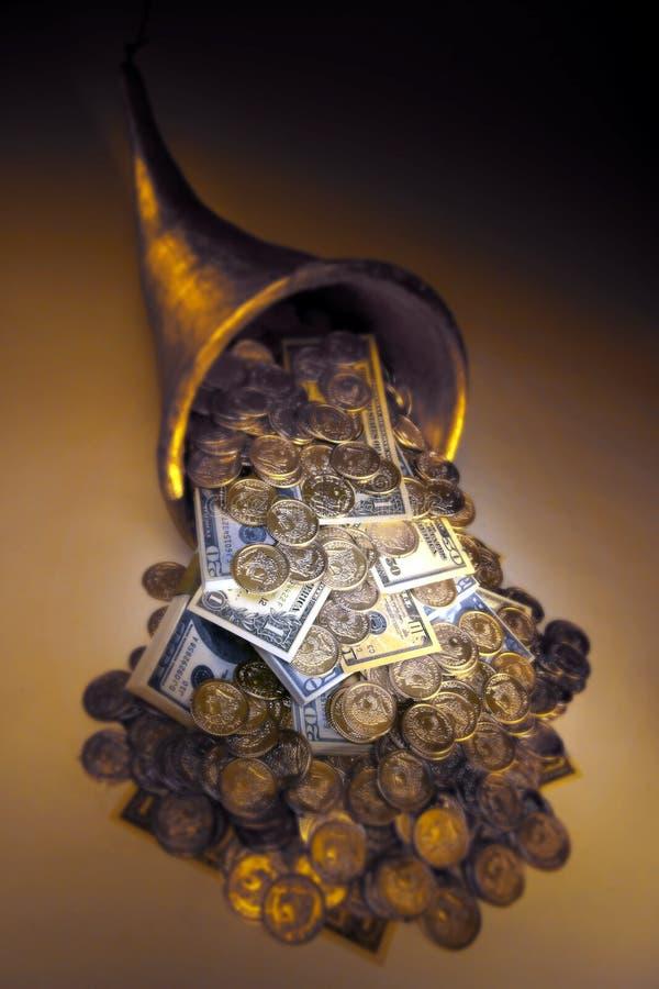 MONEY CORNUCOPIA MONEY FINANCIAL PLANNING WEALTH MANAGEMENT RETIREMENT FUND. Financial and estate planning, wealth management, saving for retirement, trust fund stock images