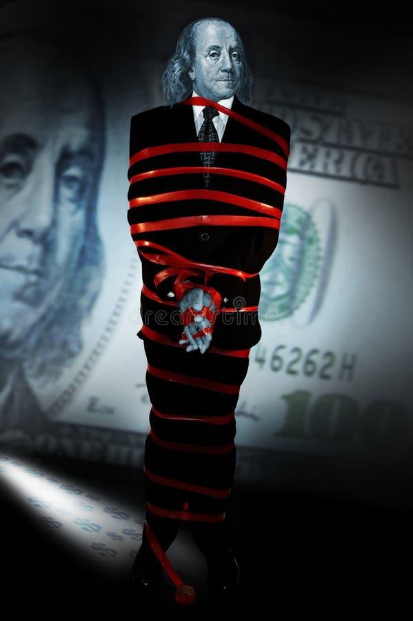 Money in crisis stock photos