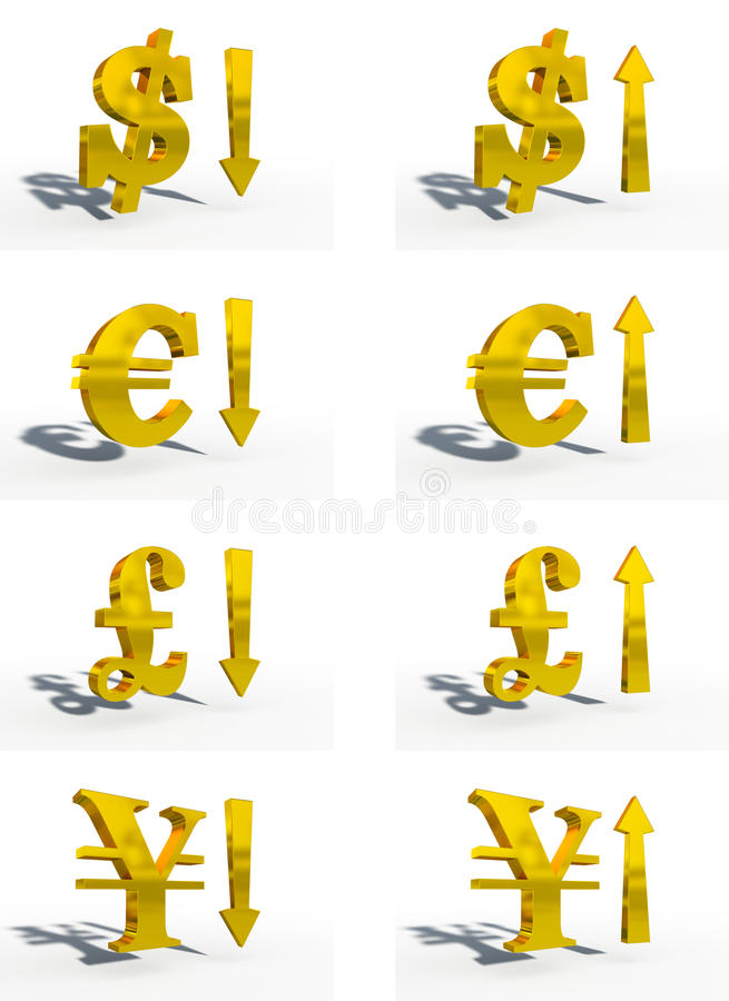 Download Money currency 3d cg stock illustration. Illustration of euro - 14460777