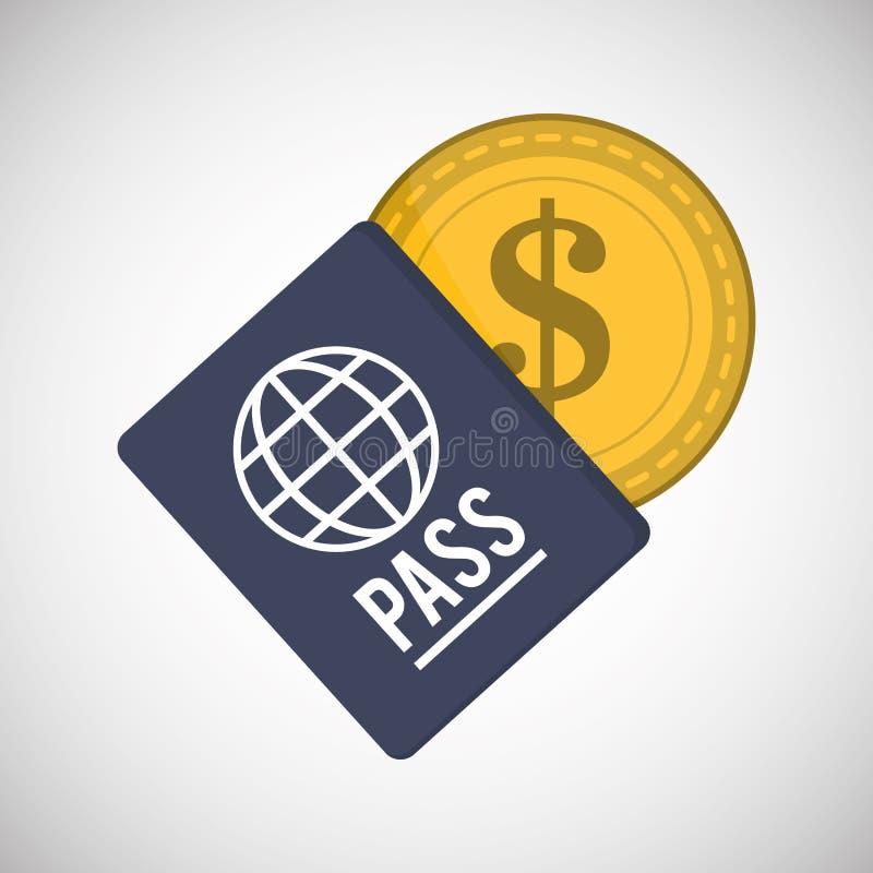 Money design. Payment icon. travel illustration. Money concept with icon design, vector illustration 10 eps graphic stock illustration