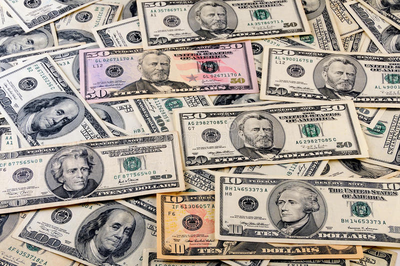 Money.Dollars imagen de archivo
