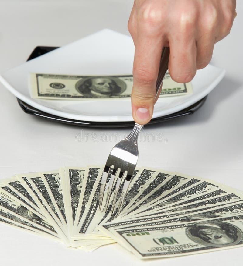 Money dollars wealth millionaire royalty free stock photography