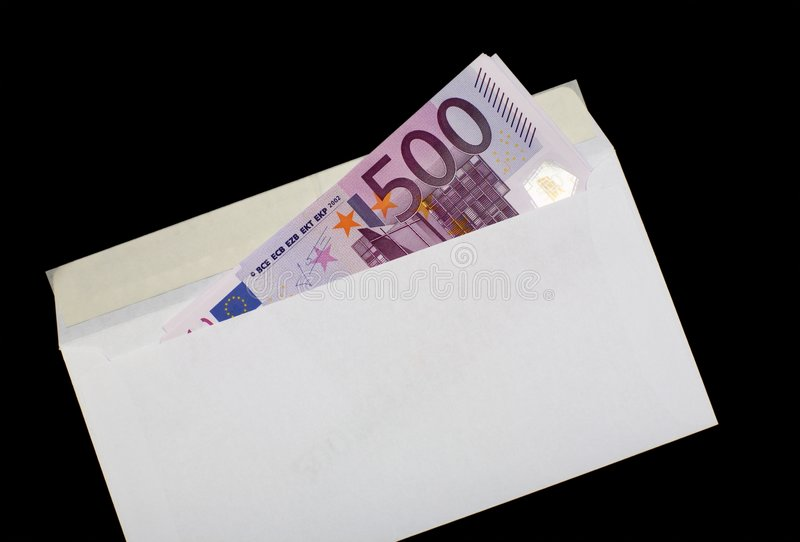 Download Money in envelope 5 stock image. Image of payola, hiding - 5408003