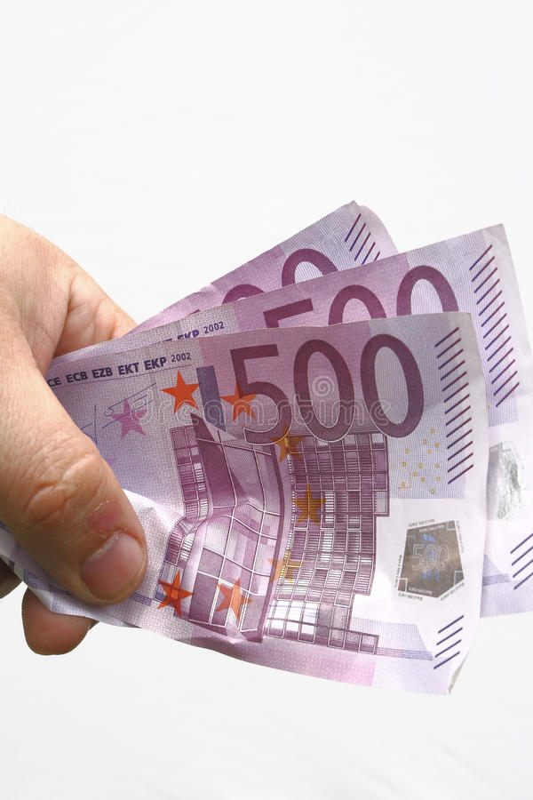 Money euro royalty free stock image