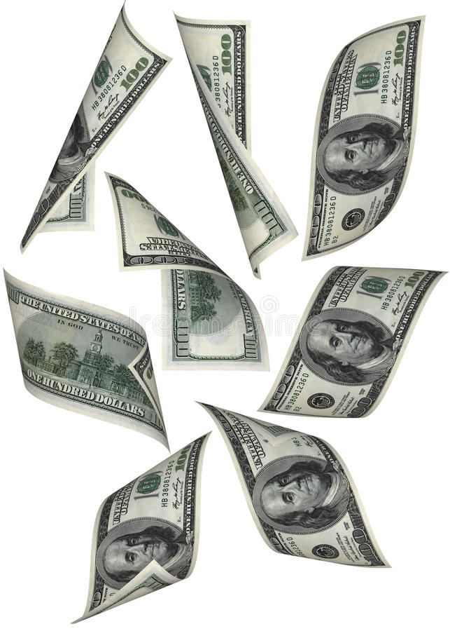 Download Money fall stock image. Image of hundred, finance, flow - 10324891
