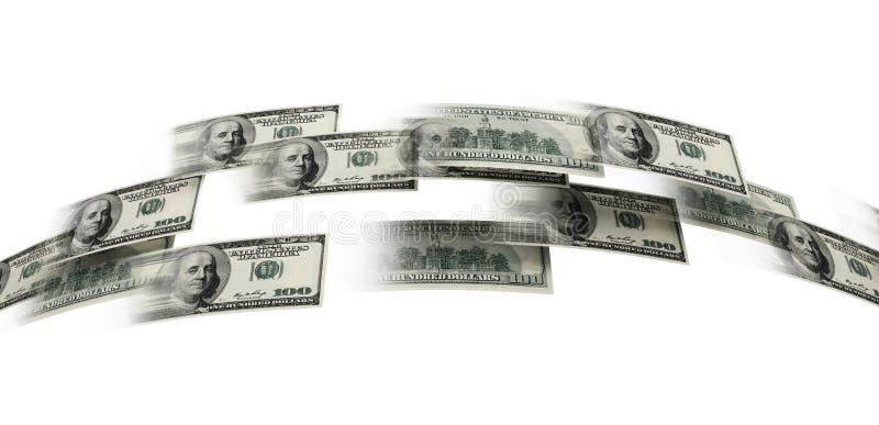 Money flaying vector illustration