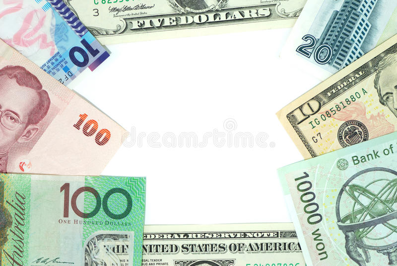 Money Frame Stock Photography