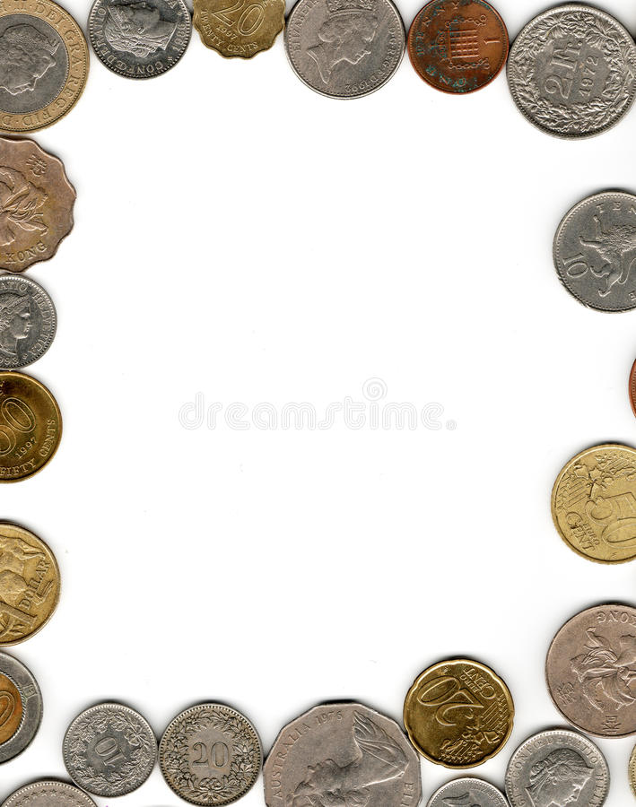Money Frame Stock Image Image Of Currency Coins Bank