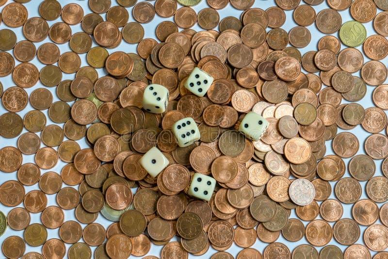 Money Gambling royalty free stock image