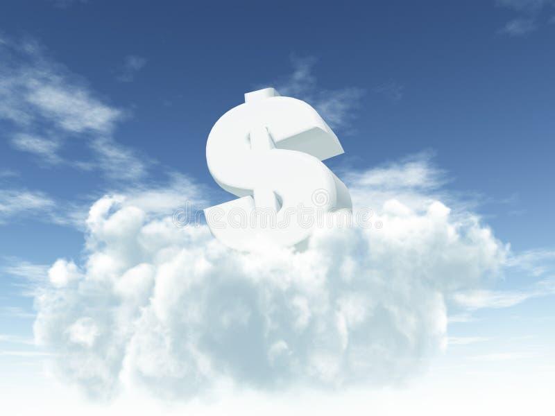 Money is the god royalty free illustration
