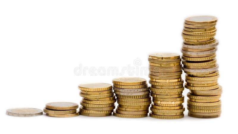 Money graph stock photography