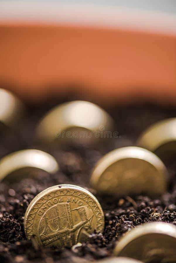 money grow while you sleep concept stock photo