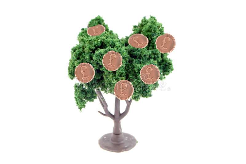 Download Money growing on tree stock image. Image of bushy, growth - 7686649